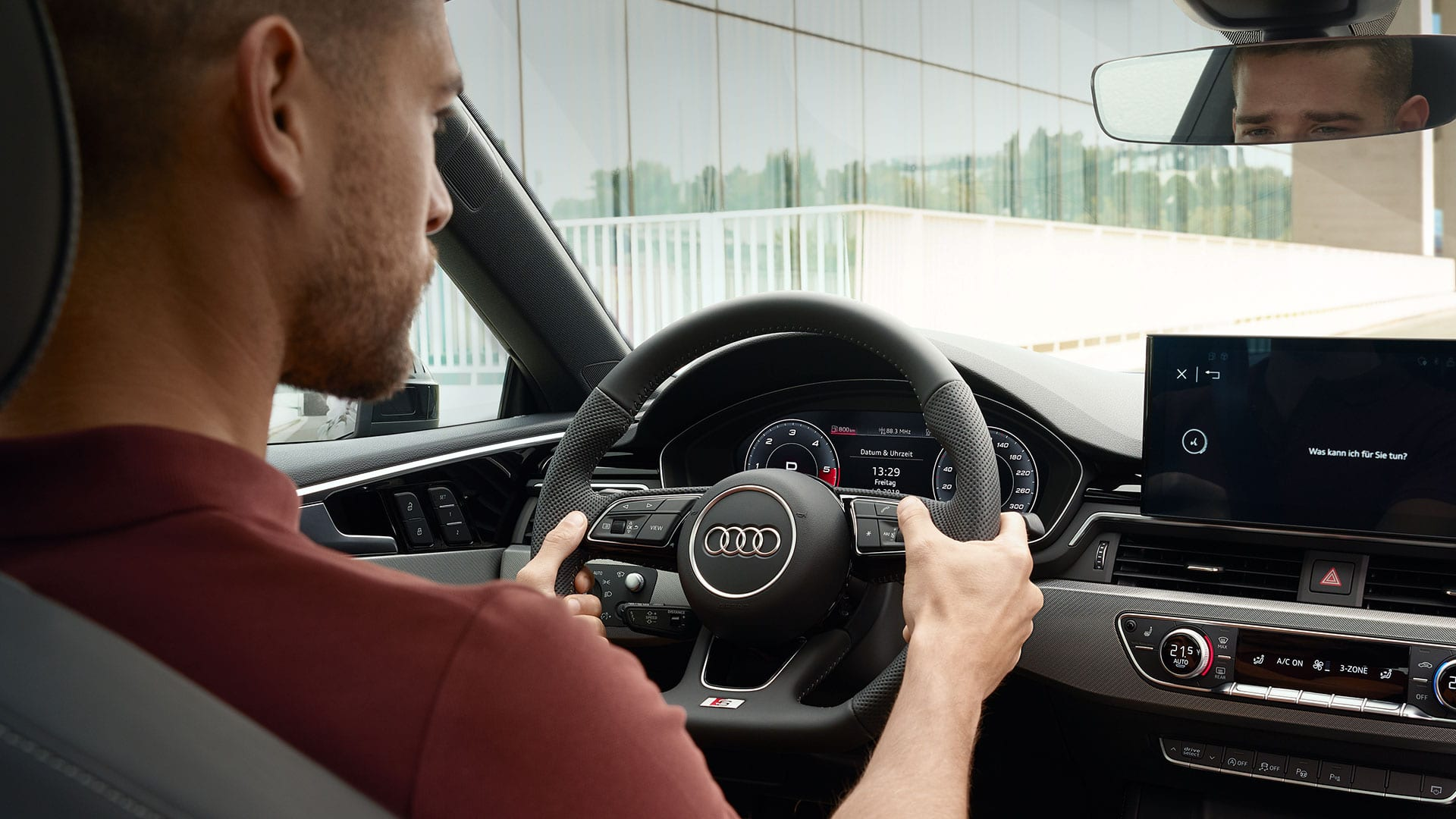 Audi A5 Coupé, Audi virtual cockpit -mittaristo